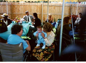 Justin's Christening Party ©1993 Donna Kent